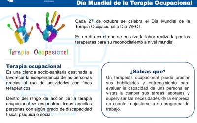 27 de octubre de 2018 / Día Mundial de la Terapia Ocupacional